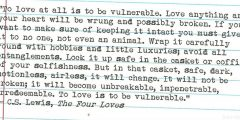 A Love Note